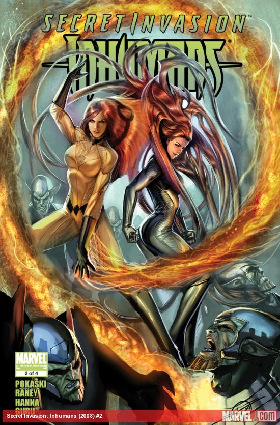 Secret Invasion: Inhumans (2008) #2