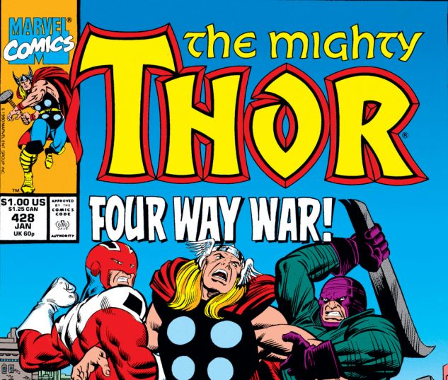 Thor (1966) #428 Cover