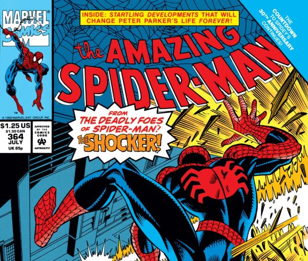 Amazing Spider-Man (1963) #364 Cover