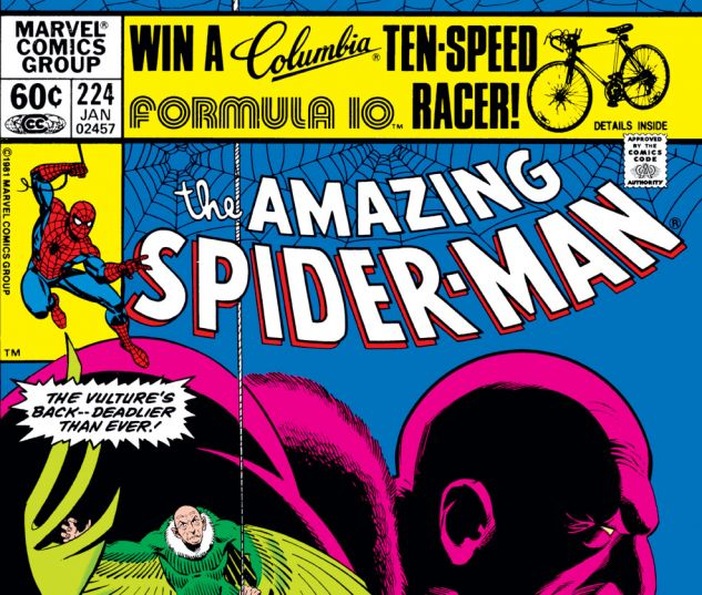 Amazing Spider-Man (1963) #224 Cover