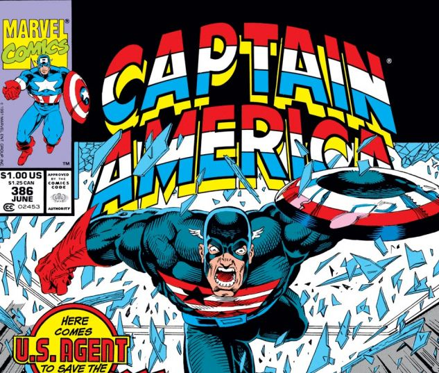 Captain America (1968) #386 Cover