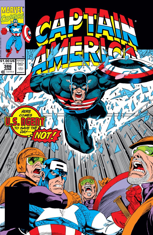 Captain America (1968) #386