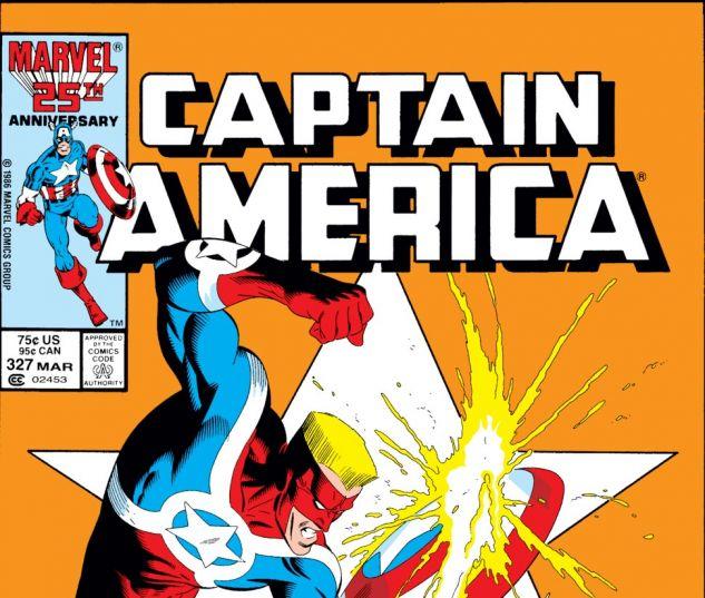 Captain America (1968) #327 Cover