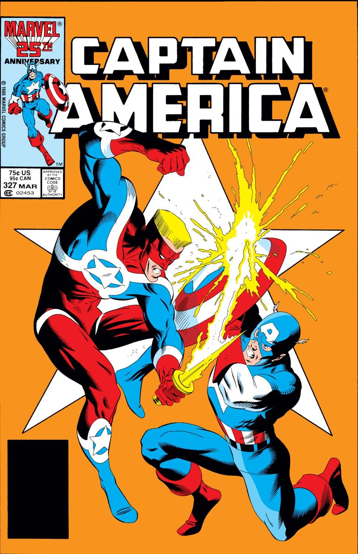 Captain America (1968) #327