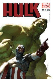 Hulk (2014) #1 (Parel Captain America Team-Up Variant)