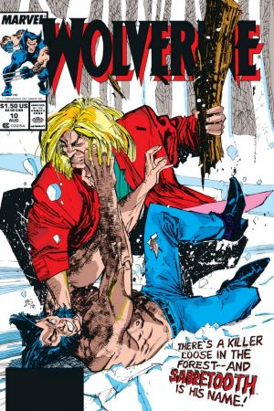 Wolverine (1988) #10