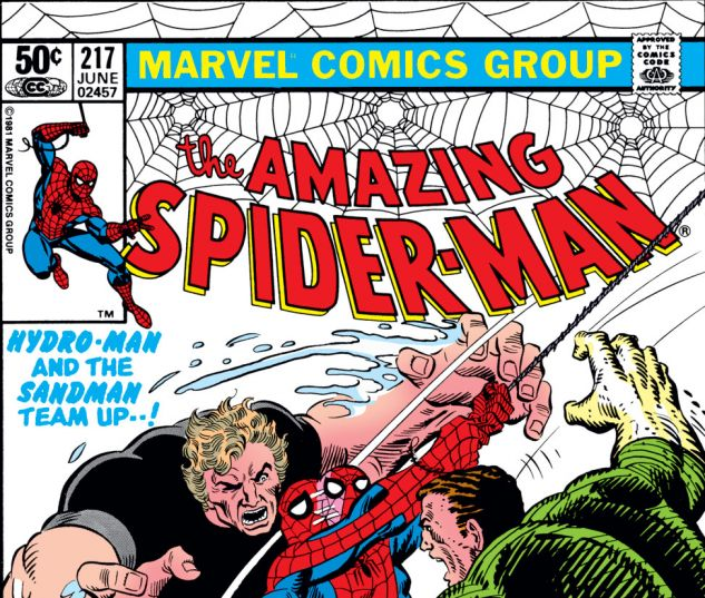 Amazing Spider-Man (1963) #217 Cover