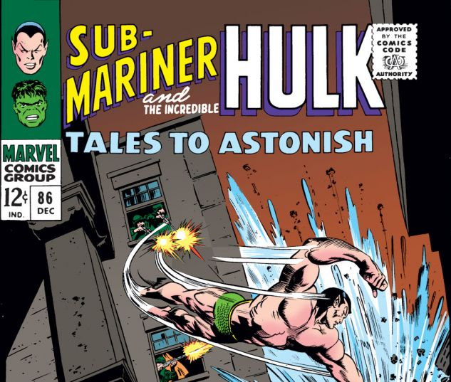 Tales to Astonish (1959) #86 Cover