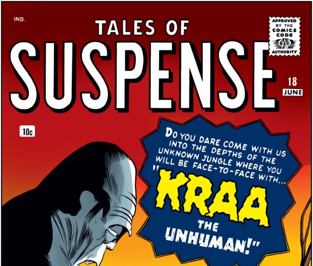 Tales of Suspense (1959) #18 Cover