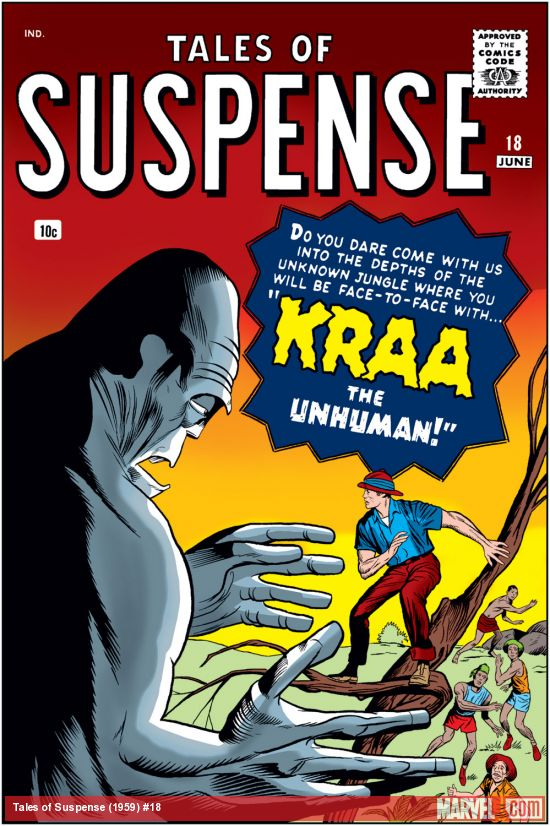 Tales of Suspense (1959) #18