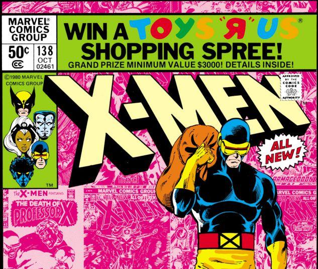 Uncanny X-Men (1963) #138 Cover