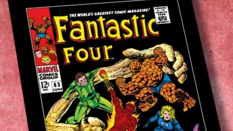 Marvel AR: Fantastic Four #63 Flashback