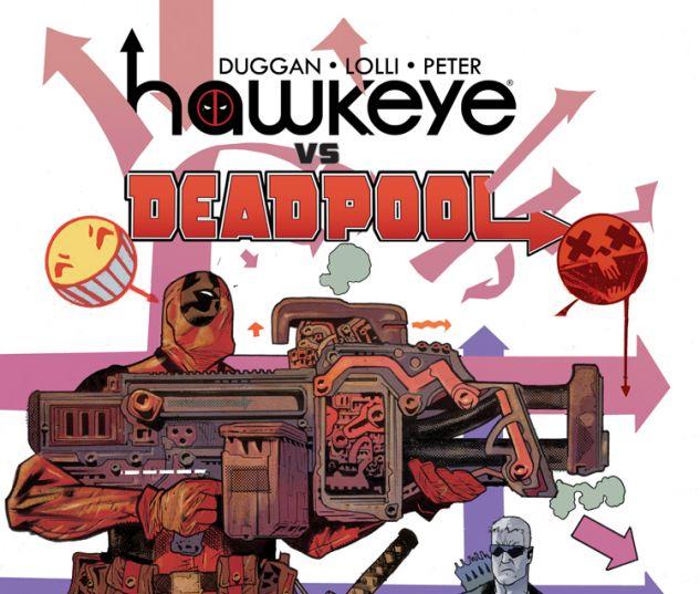 HAWKEYE VS. DEADPOOL 1 (WITH DIGITAL CODE)
