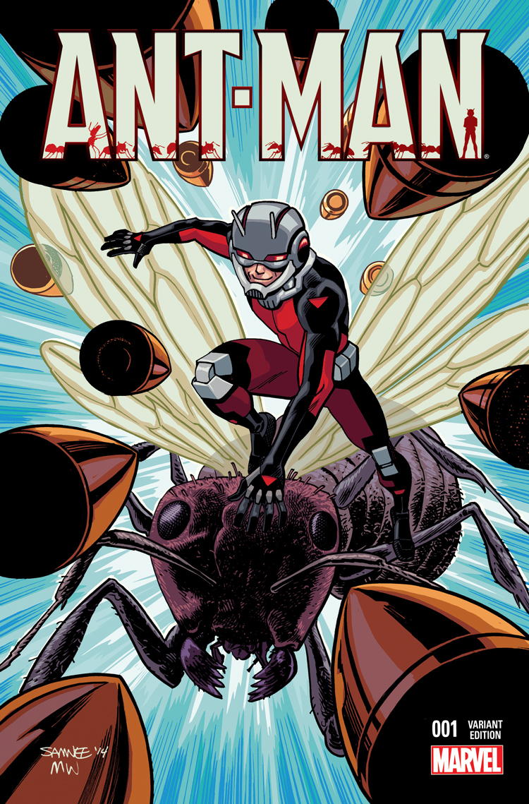 Ant Man 2015 1 Samnee Variant Comic Issues Marvel