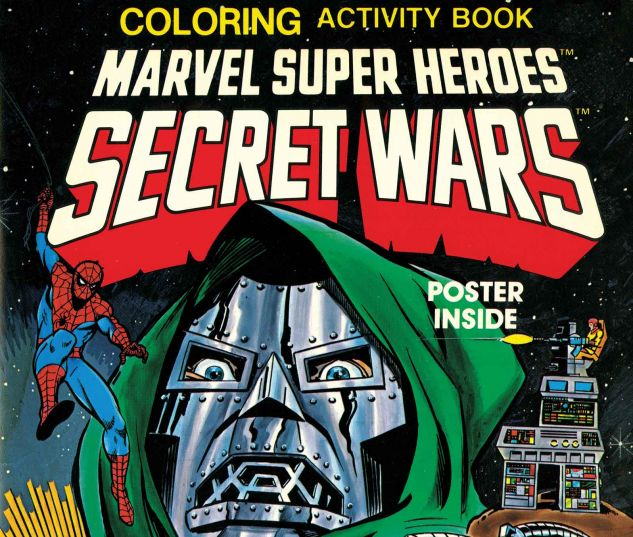 MARVEL SUPER HEROES SECRET WARS ACTIVITY BOOK FACSIMILE COLLECTION