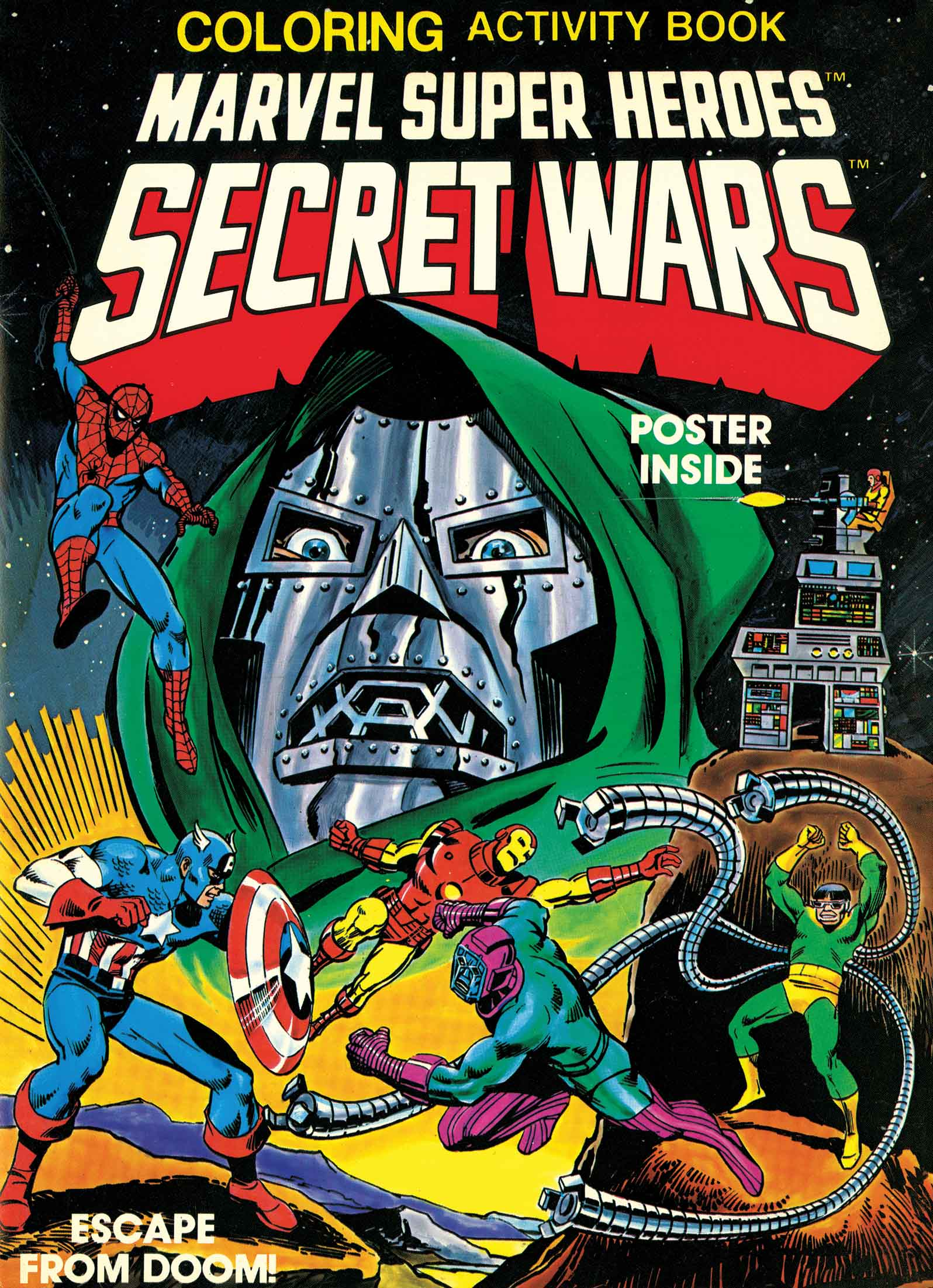 Marvel Super Heroes Secret Wars Activity Book Facsimile Collection (Trade Paperback)