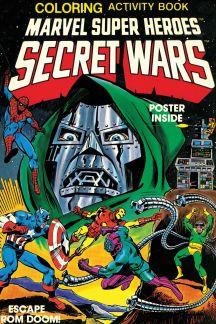 Marvel Super Heroes Secret Wars Activity Book Facsimile Collection (Trade Paperback)