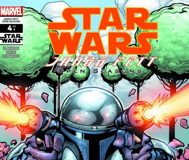 Star Wars: Jango Fett - Open Seasons (2002) #4