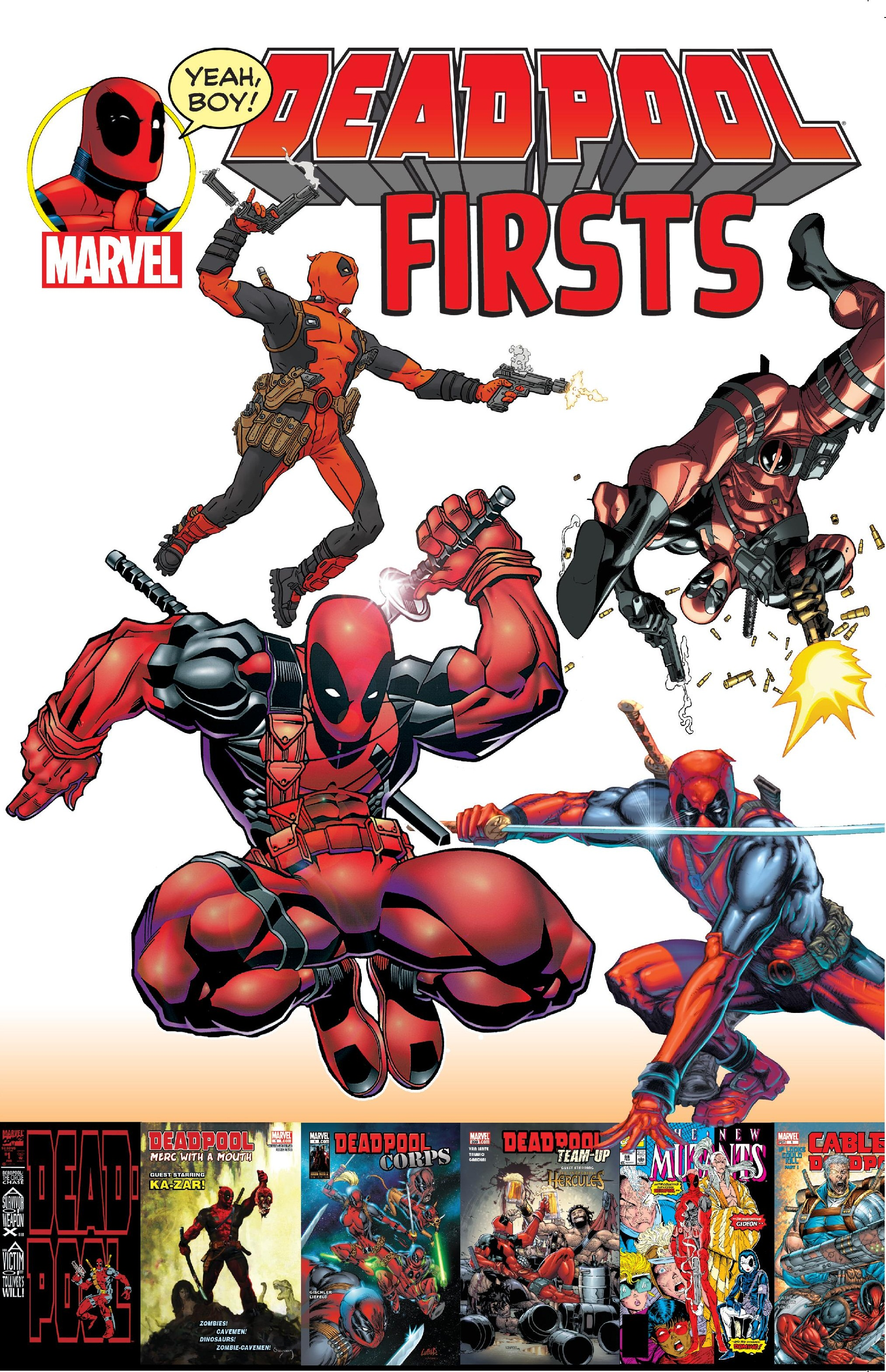DEADPOOL FIRSTS TPB (Trade Paperback)