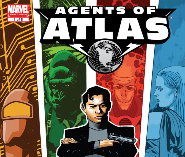 Agents of Atlas (2006) #1 Cover