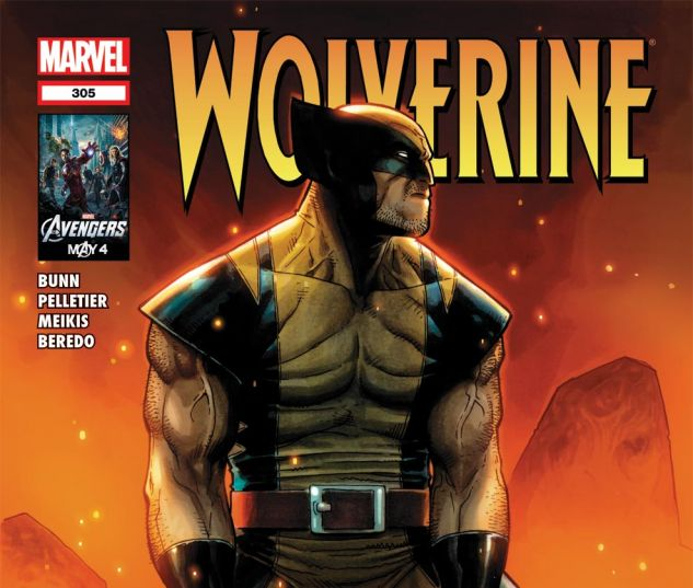 WOLVERINE (2010) #305 Cover