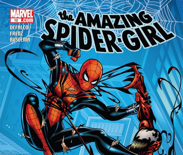 AMAZING SPIDER-GIRL (2006) #12 Cover