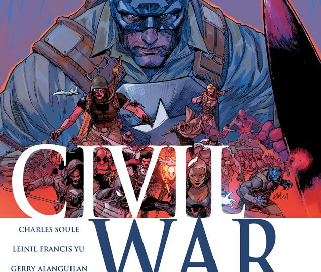 cover from Civil War (2015) #4