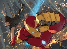 Iron Man Takes on Everybody