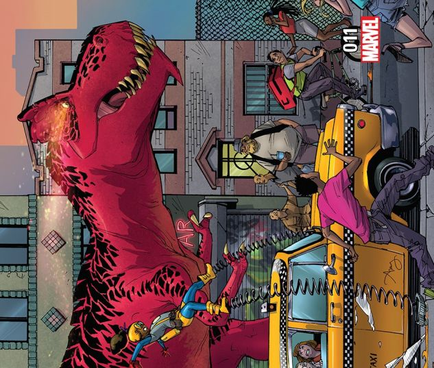 cover from Moon Girl and Devil Dinosaur (2015) #11