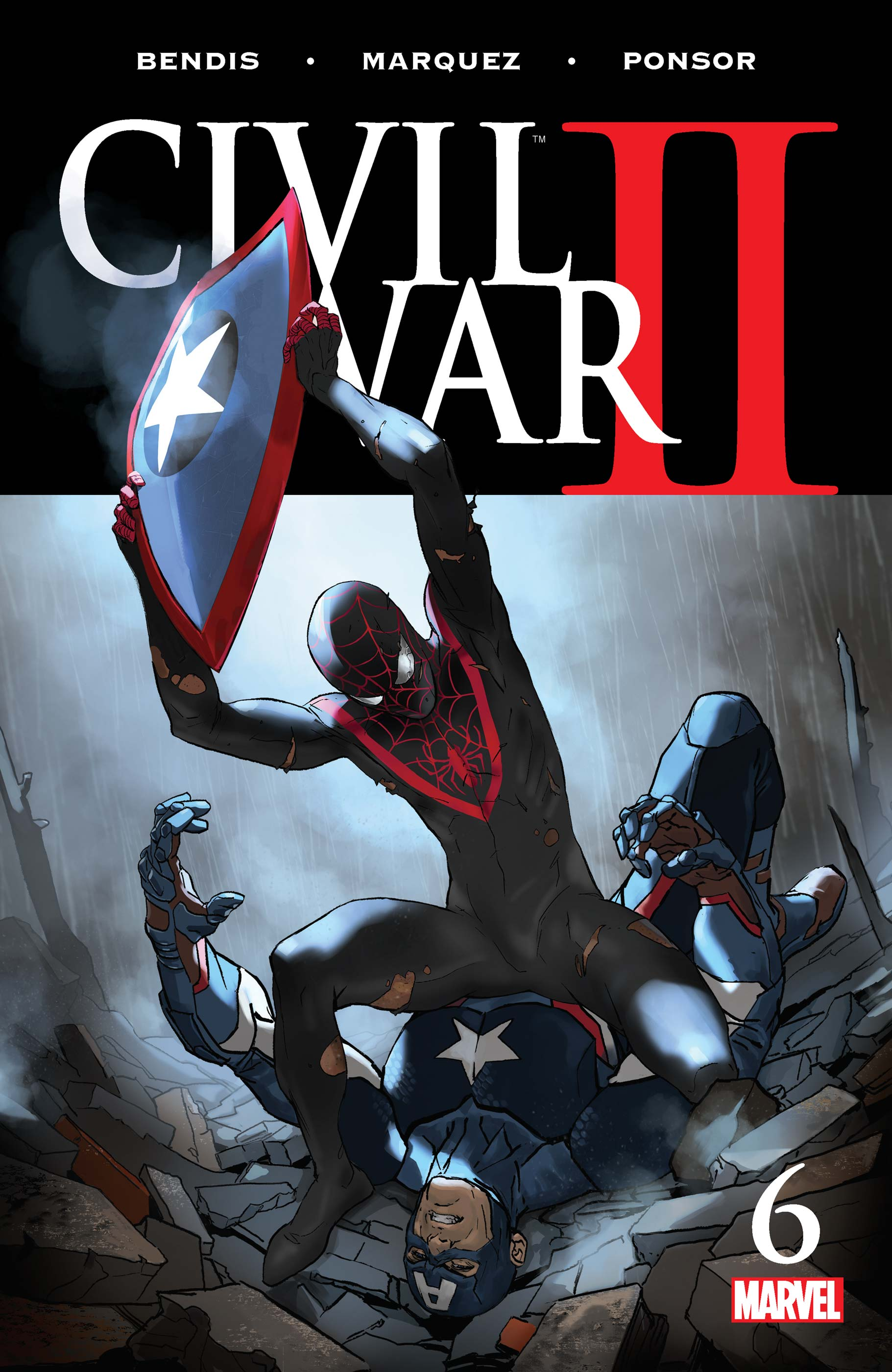 Civil War II (2016) #6
