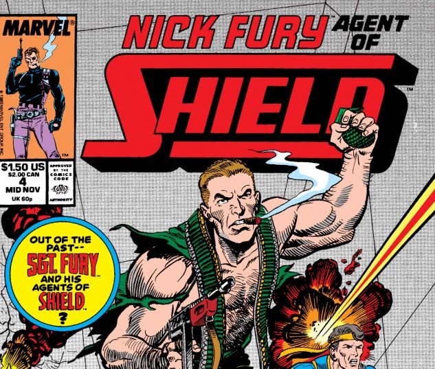Nick Fury, Agent of Shield (1989) #4