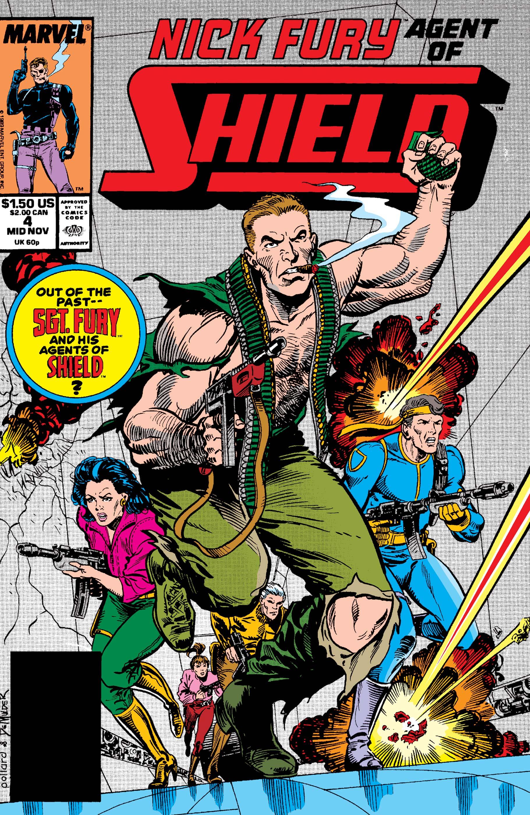 Nick Fury, Agent of S.H.I.E.L.D. (1989) #4