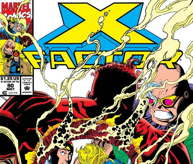 X-FACTOR (1986) #90