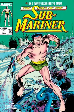 Saga of the Sub-Mariner (1988) #1