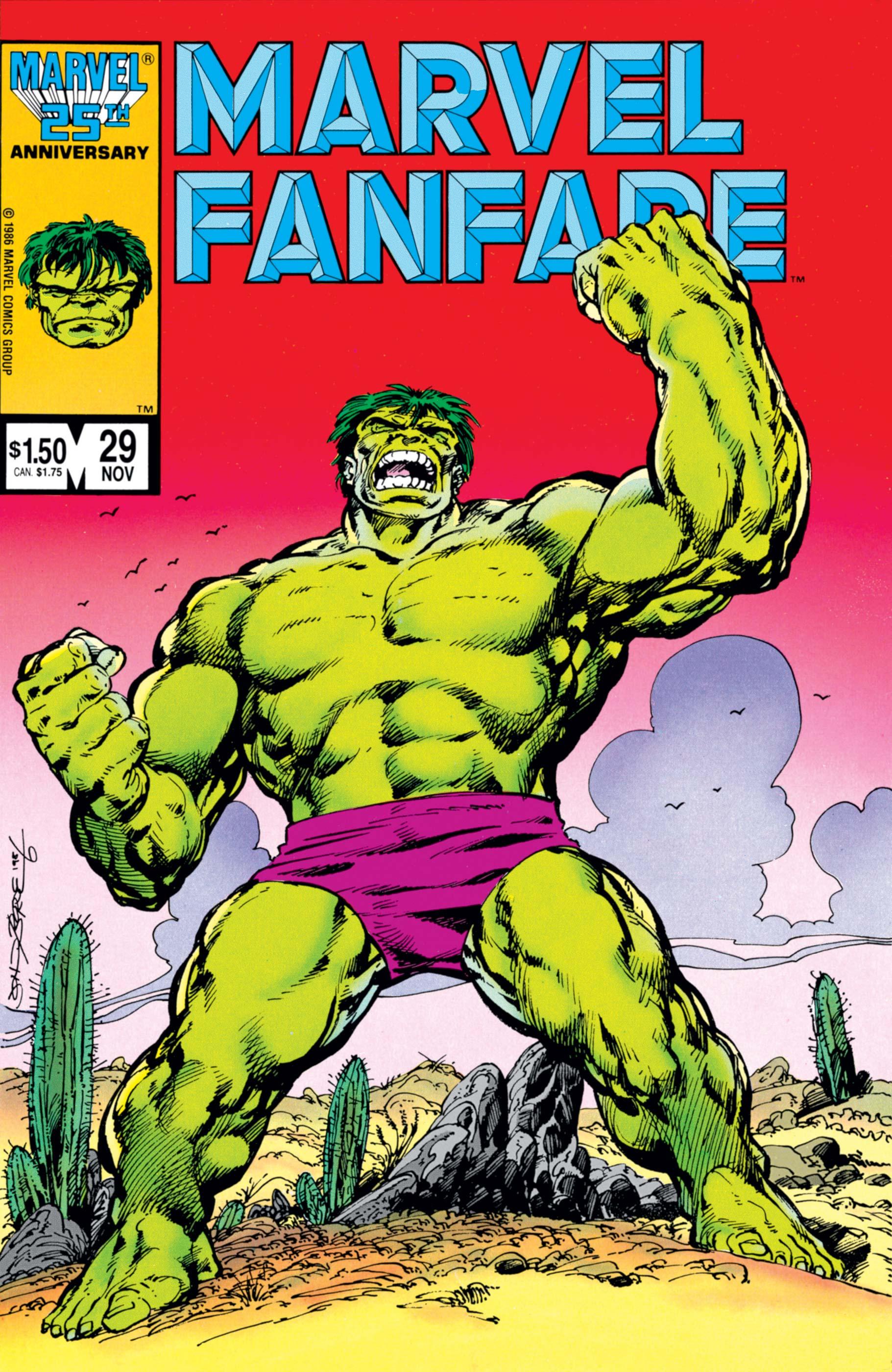 Marvel Fanfare (1982) #29