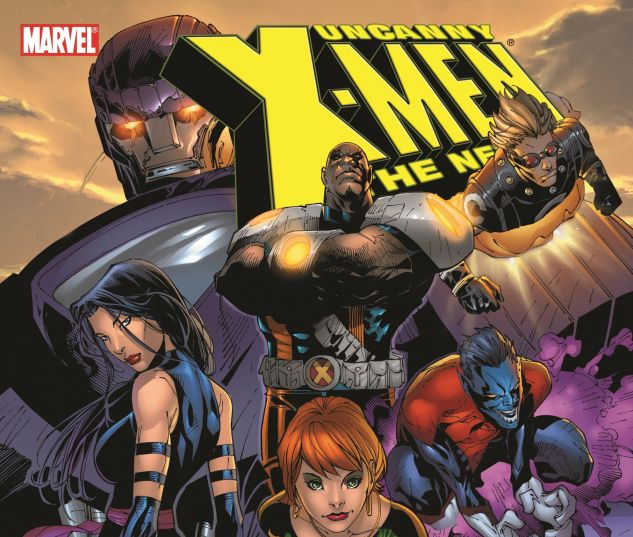 UNCANNY X-MEN - THE NEW AGE VOL. 4: END OF GREYS 0 cover