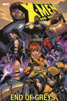 Uncanny X-Men - The New Age Vol. 4: End of Greys (Trade Paperback)