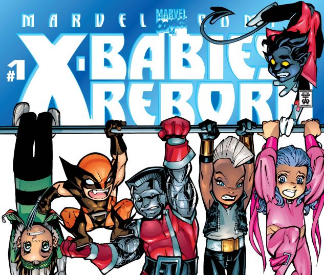 cover to X-babies: reborn