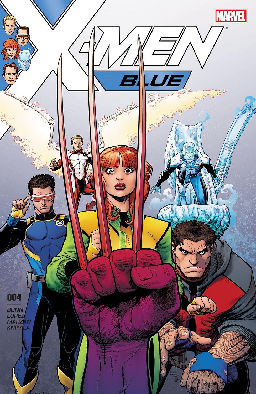 X-Men: Blue (2017) #4