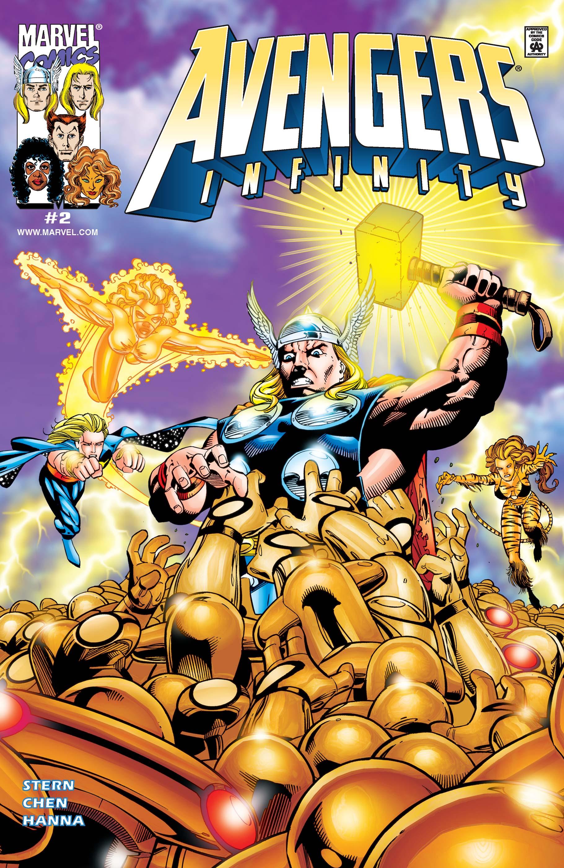 Avengers: Infinity (2000) #2