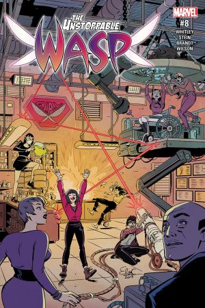 The Unstoppable Wasp (2017) #8