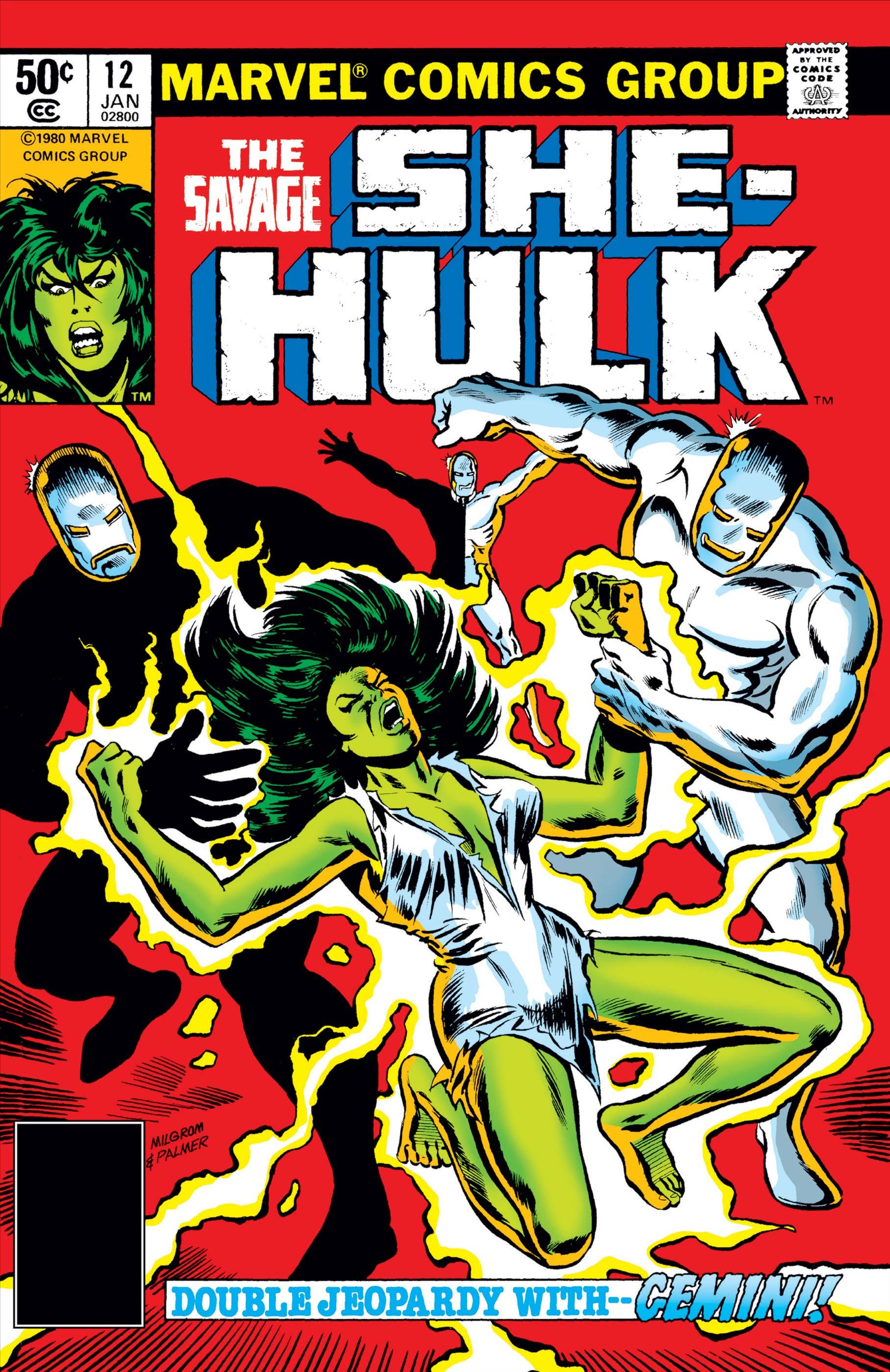 Savage She-Hulk (1980) #12