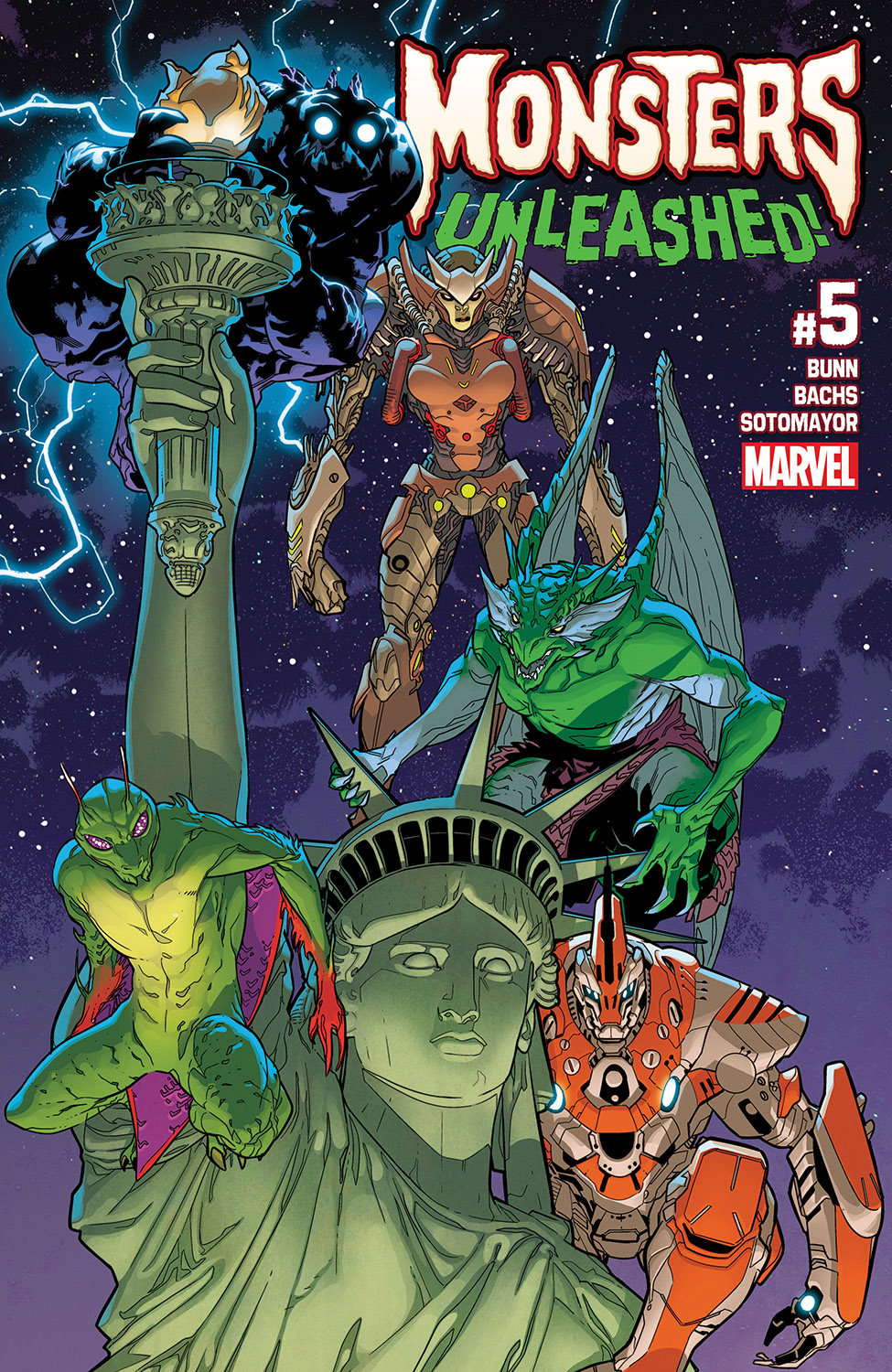 Monsters Unleashed (2017) #5
