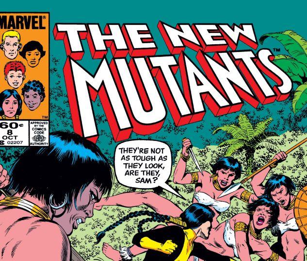 NEW MUTANTS (1983) #8