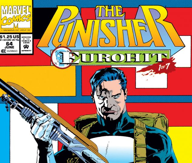 Cover for PUNISHER 64