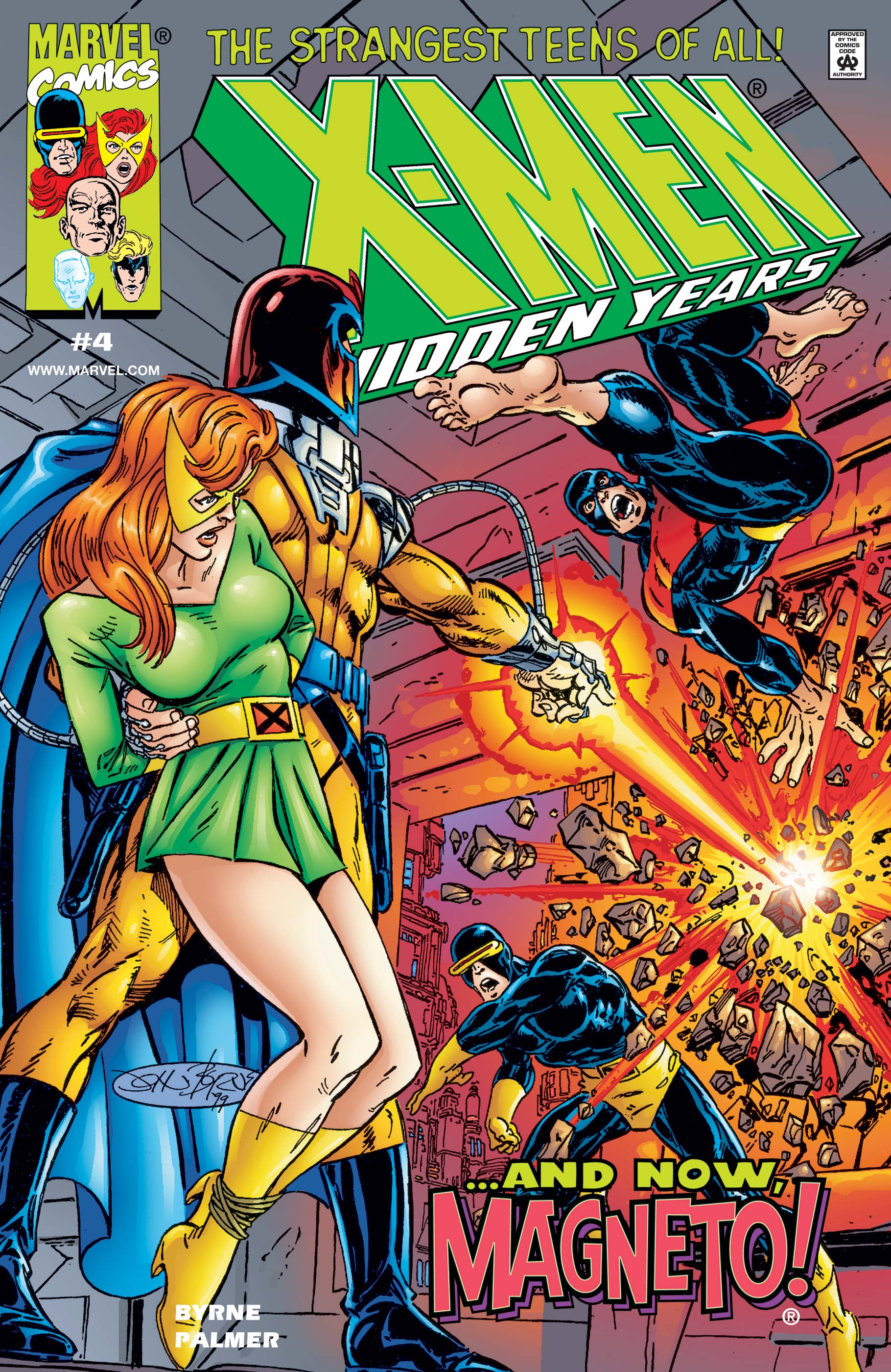 X-Men: The Hidden Years (1999) #4