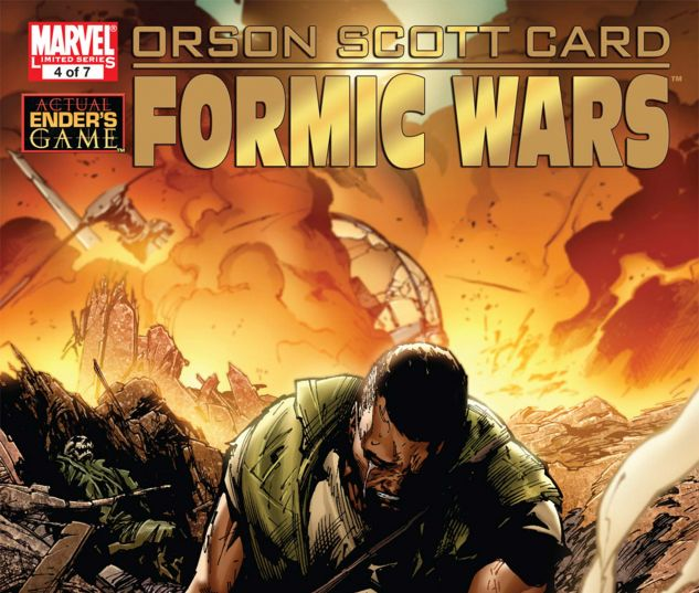 Formic Wars: Burning Earth (2011) #4
