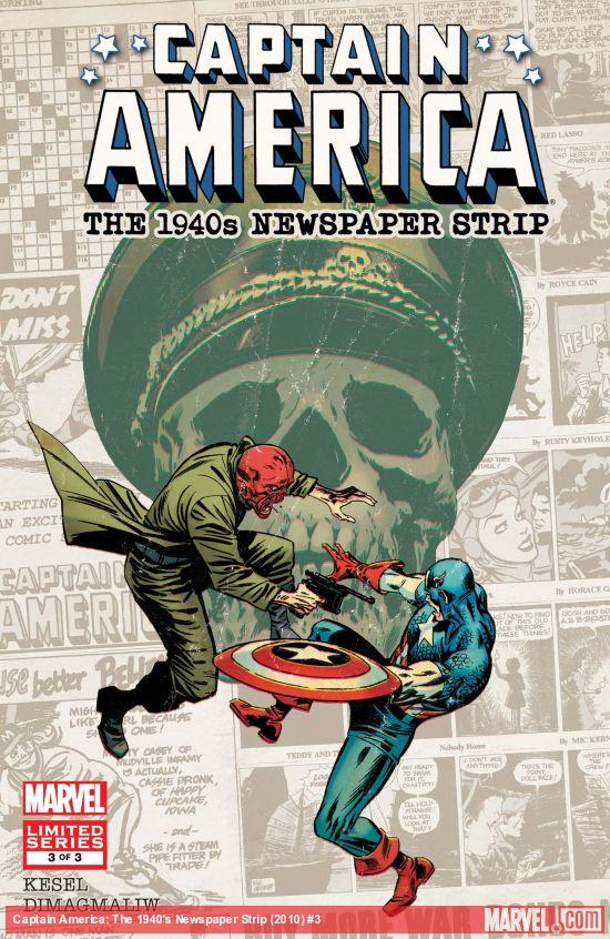 Captain America: The 1940s Newspaper Strip (2010) #3