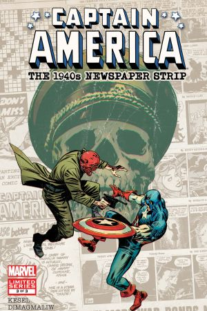 Captain America: The 1940s Newspaper Strip (2010) #3