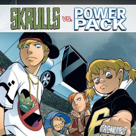 SKRULLS VS. POWER PACK (2008)